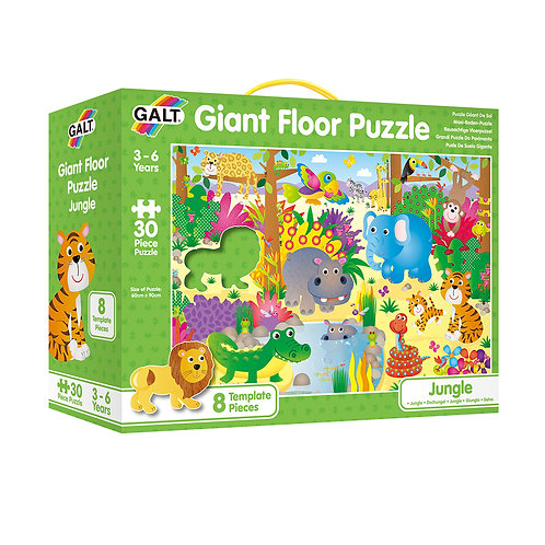 Giant Floor Puzzle: Jungle 30pc