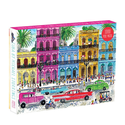 Cuba by Michael Storrings, 1000pc