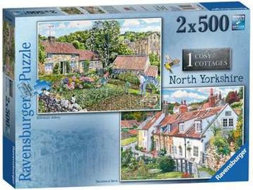 North Yorkshire, 2x 500pc