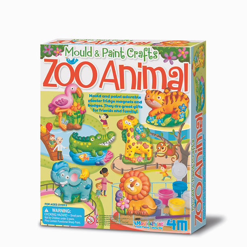 Mould & Paint - Zoo Animals