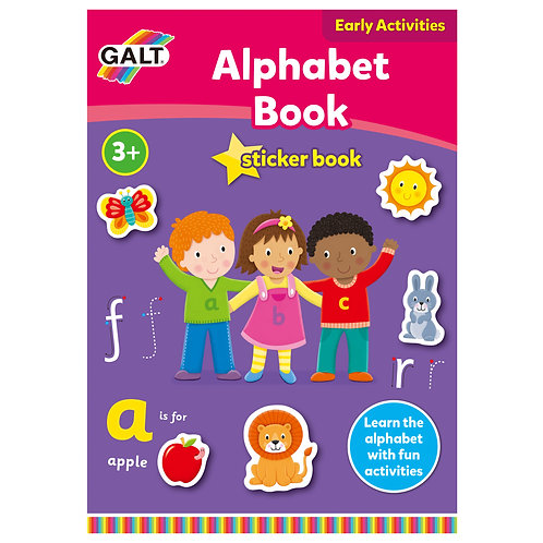Alphabet Sticker Book  - Age 3+
