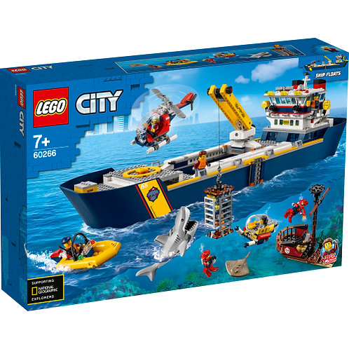 60266 City - Ocean Exploration Ship