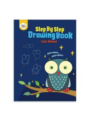 Step By Step Drawing Book - Cute Animals