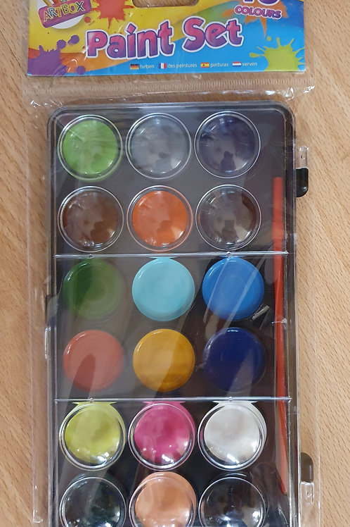 18 Colour Paint Set