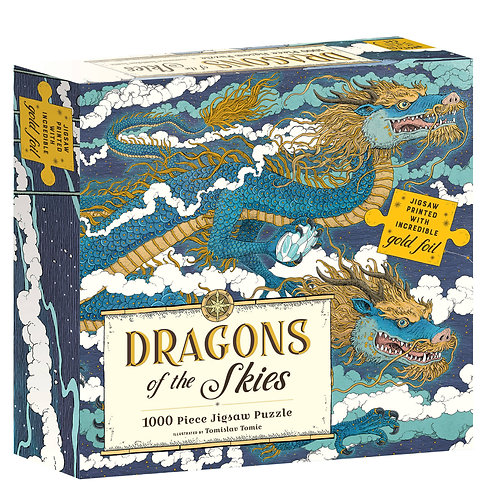 Dragon of the Skies Foil Puzzle, 1,000pc