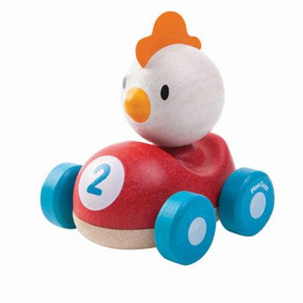 Wooden Chicken Racer