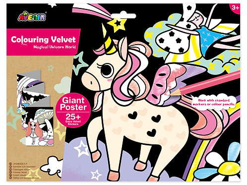 copy of Velvet Giant Poster - Unicorn