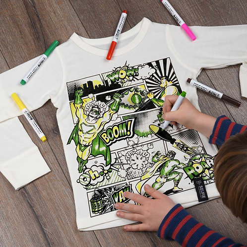 Selfie Clothing Colouring in Tops