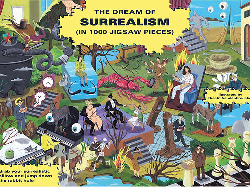Dream of Surrealism 1000-Piece Art History Puzzle