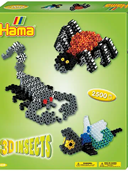 Hama Beads - 3D Insects