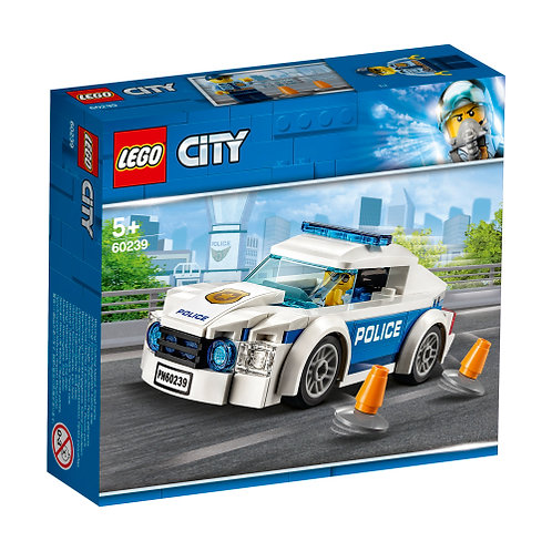 60239 City - Police Patrol Car V29