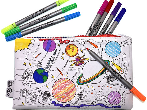 Space - Colour In Pencil Case