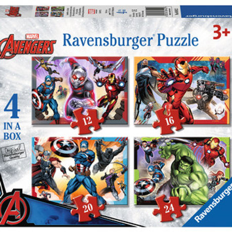 Avengers Assemble, 4 in a box