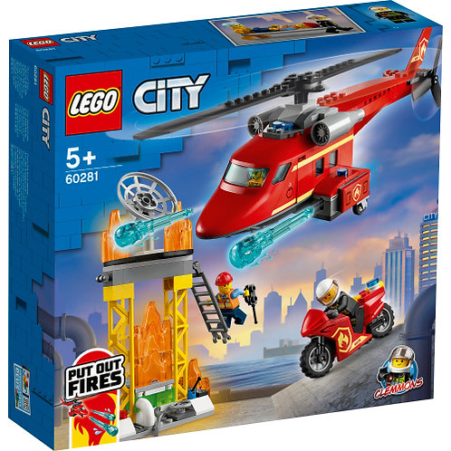 60281 City - Fire Rescue Helicopter