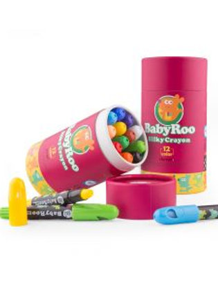 Silky Washable Crayons x 12