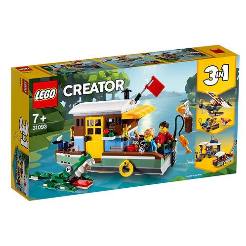 31093 Creator - Riverside Houseboat