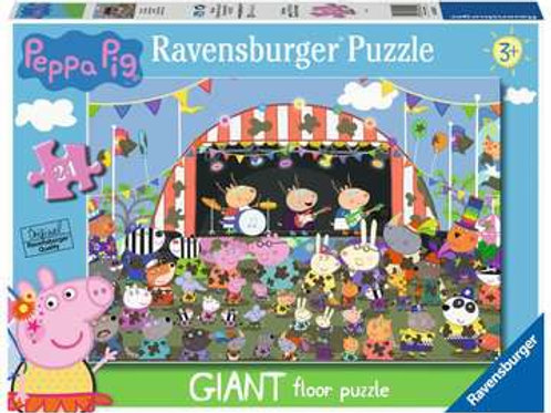 Peppa Pig Family Celebrations Giant Floor Puzzle, 24pc