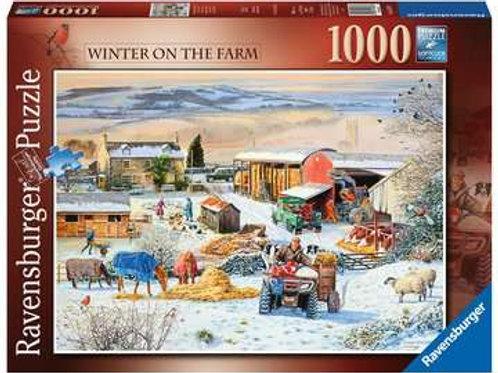 Winter on the Farm, 1000pc