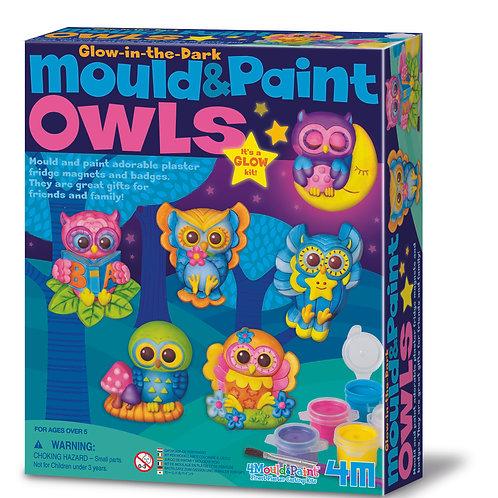 Mould & Paint - Owls