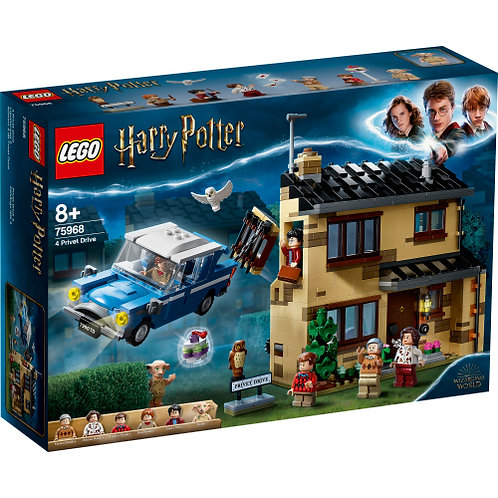 75968 Harry Potter - 4 Privet Drive