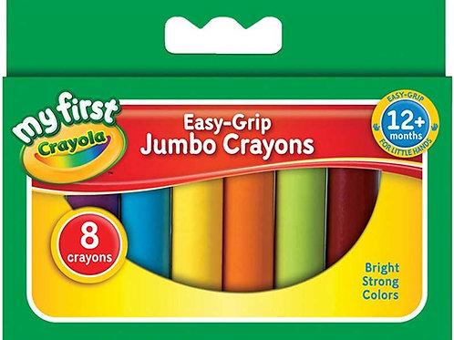 8 My First Crayola Jumbo Crayons