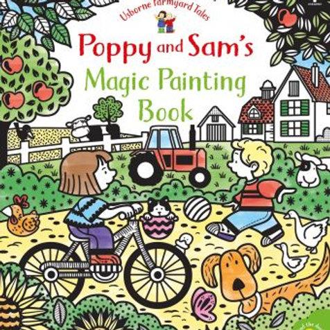 Poppy & Sam Magic Painting Book