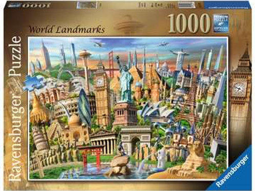 World Landmarks, 1000pc