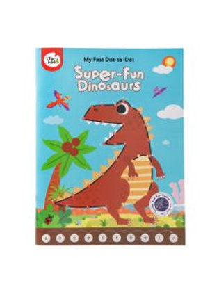 My First Dot-to-Dot Drawing Book, Super-Fun Dinosaurs