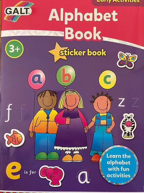Alphabet Sticker Book  - Age 3+