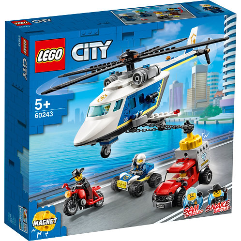 60243 City - Police Helicopter Chase
