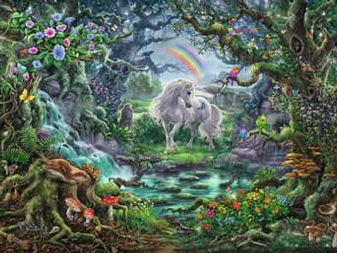 Escape Puzzle 759pc Unicorns