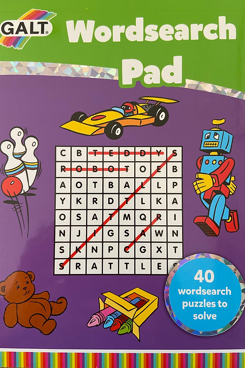 Wordsearch Pad - Age 7+