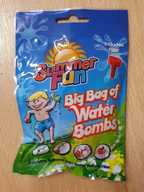 Bag of Water Bombs with Filler