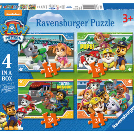 Paw Patrol, 4 in a box