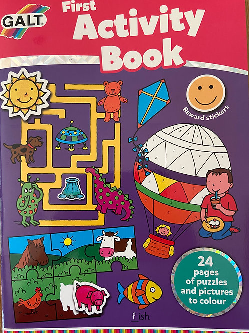 First Activity Book  - Age 5+