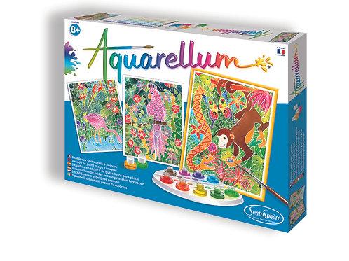 Life in the Jungle - Aquarellum