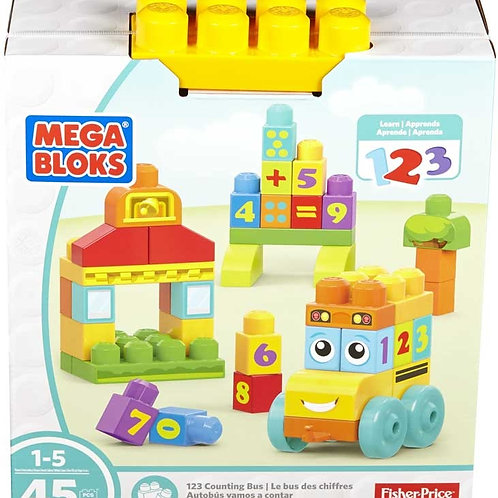 Mega Bloks - 1 2 3 Counting Bus