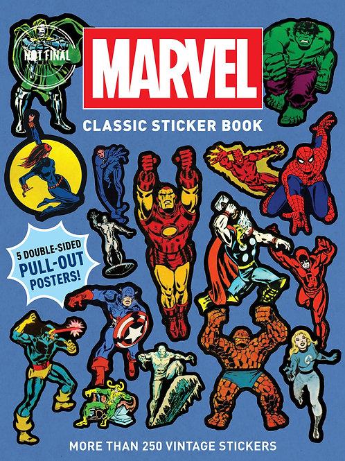 Marvel Classic Sticker Book