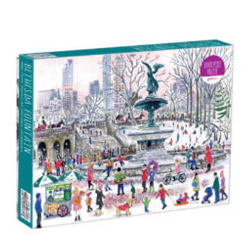 Bethesda Fountain by Michael Storrings, 1000pc