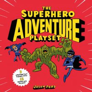 Superhero Adventure Playset