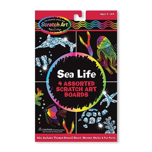 Scratch Art - Sea Life