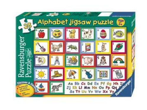Discover & Develop Alphabet Puzzle, 28pc