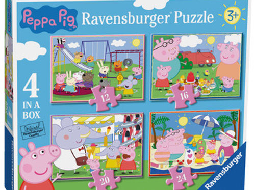 Peppa Pig, 4 in a box