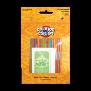 Lollipop Sticks, Coloured