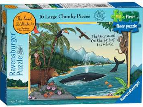 The Snail & The Whale My First Floor Puzzle, 16pc