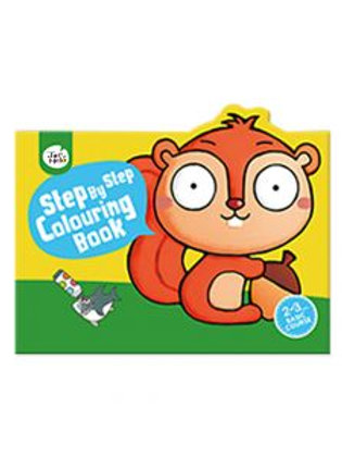 Step By Step Colouring Book - 2-3 Years