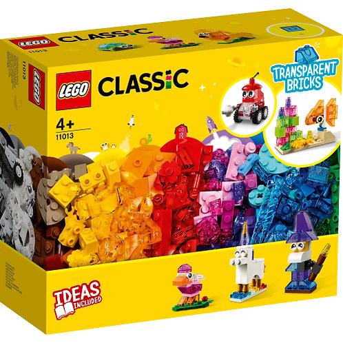 11013 Classic - Creative Transparent Bricks