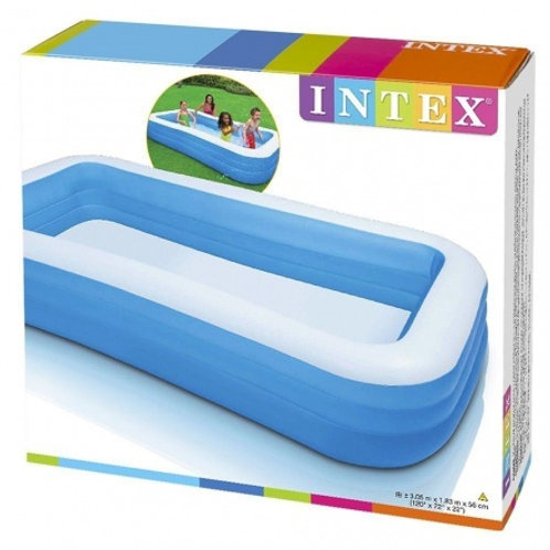 "120 x 72"" x 22 inch Inex Swim Centre Family Inflatable Pool"