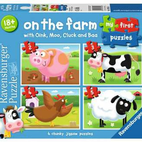 My First Puzzle - On the Farm