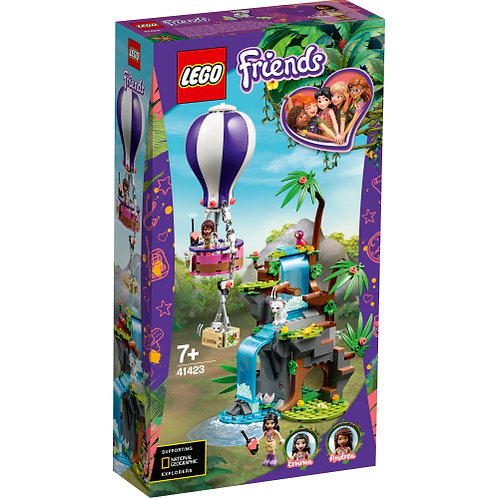 41423 Friends - Tiger Hot Air Balloon Jungle..